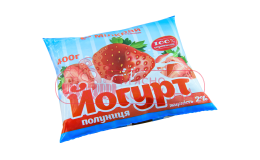 "Міл-Край ""Йогурт Полуничний"" 400 гр шт"