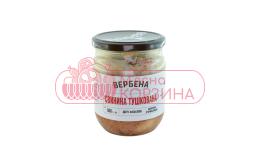 "Вербена  Консерва ""Свинина Тушкована"" скло 0,5 кг шт"
